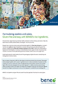 Beneo factsheet gluten free baked goods english