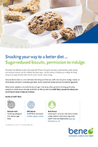 beneo factsheet healthy bisquit