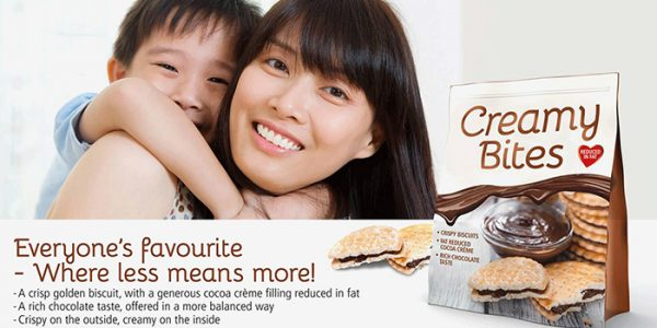BENEO Fat reduced biscuit filling with inulin concept