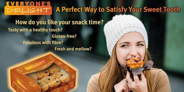 BENEO Gluten free Muffin concept