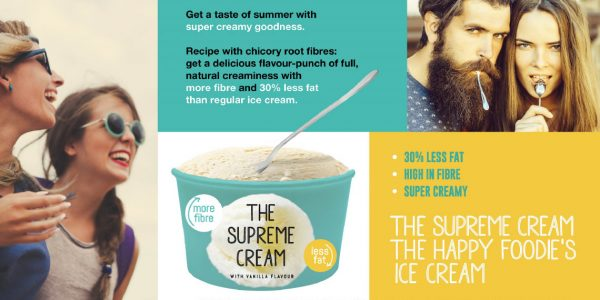 BENEO concept supreme ice cream