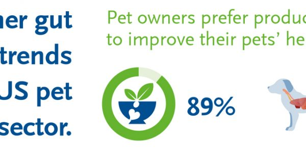BENEO health trends research - Consumer gut health trends reach pet food sector