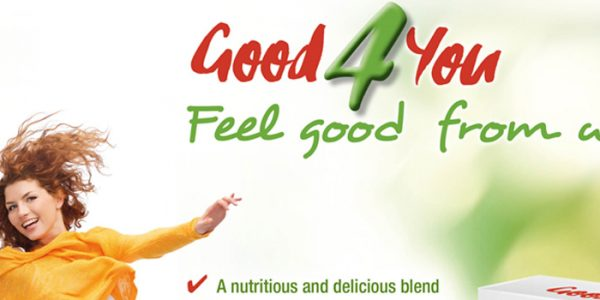 Concept digestive health cereal bar