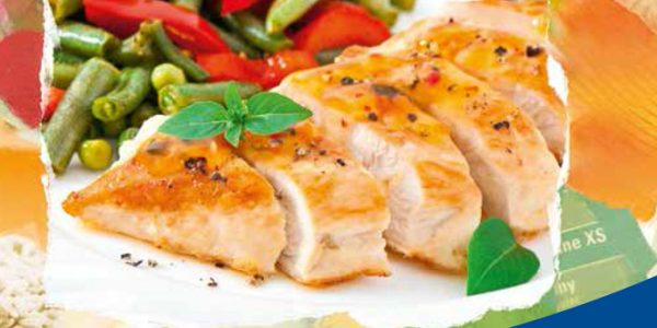 Increase yield on chicken breast processing with rice starch.