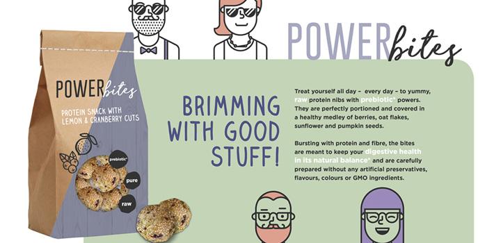 Prebiotic protein snack
