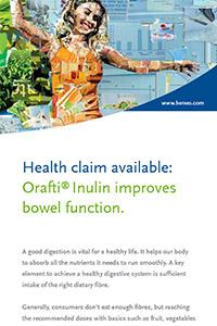 Verbesserte Darmfunktion mit Orafti® Inulin