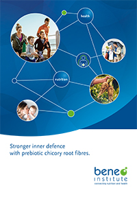 Stronger inner defence with prebiotic chicory root fibres