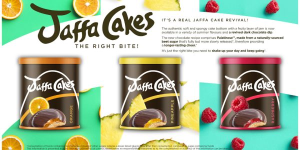concept jaffa cakes with palatinose