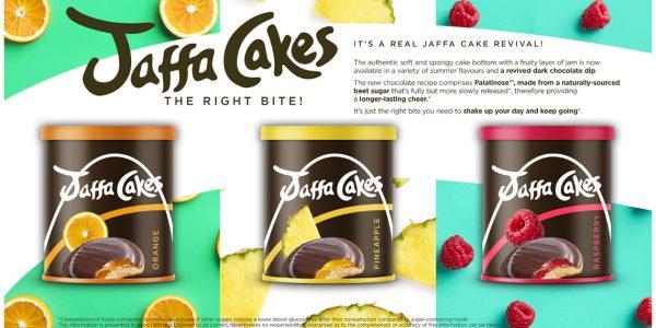 Concept Jaffa cakes wiht Palatinose™