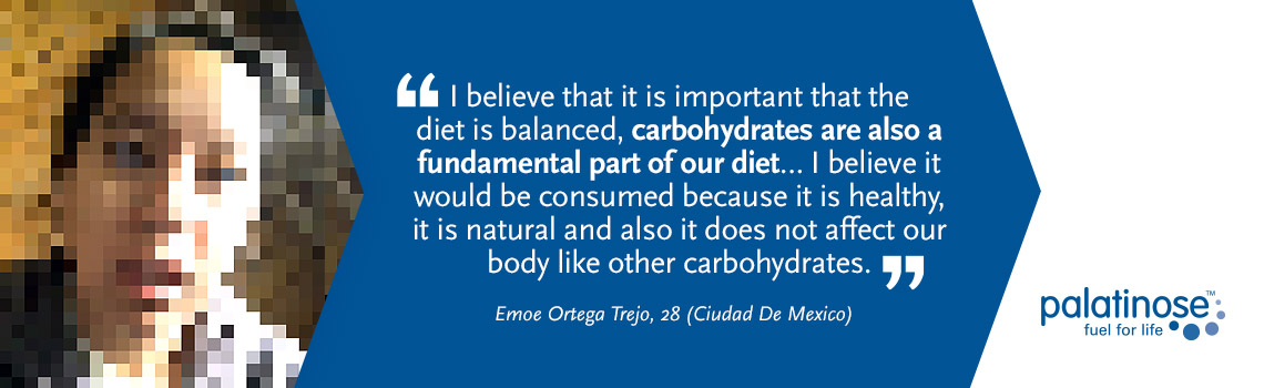 Testimonial Emoe Ortega Trejo - What consumers think about slow carbohydrates?
