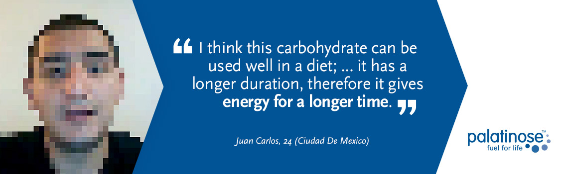 Testimonial Juan Carlos - What consumers think about slow carbohydrates?
