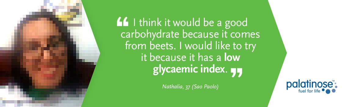 Testimonial Nathalia - What consumers think about slow carbohydrates?