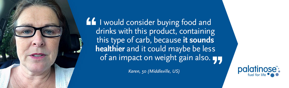 Testimonial Karen - What consumers think about slow carbohydrates?