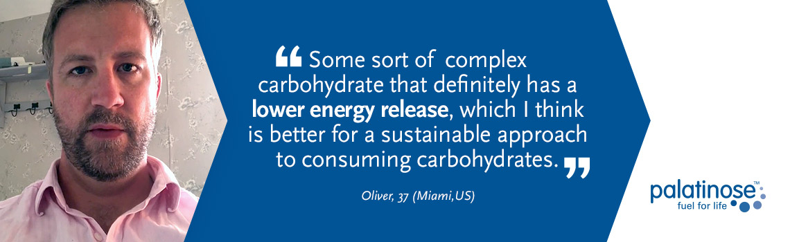 Testimonial Oliver - What consumers think about slow carbohydrates?
