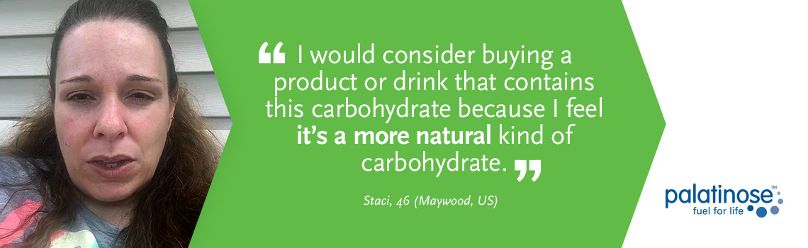 Testimonial Staci - What consumers think about slow carbohydrates?
