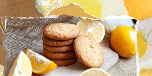 Paper: Re-energize with a good carbohydrate lemon cookie.