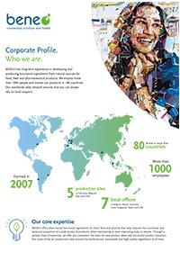 Perfil corporativo de BENEO.