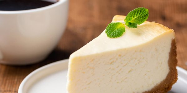 Header image vegan cheese cake.