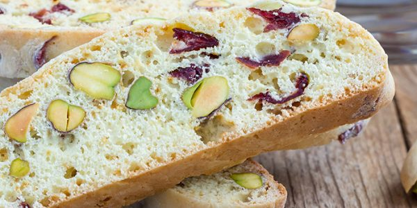 Header image - Energy biscotti cookies with Palatinose™ and Inulin