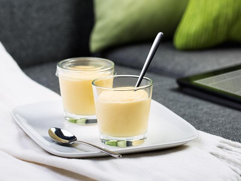 Pudding recipe with Oligofructose