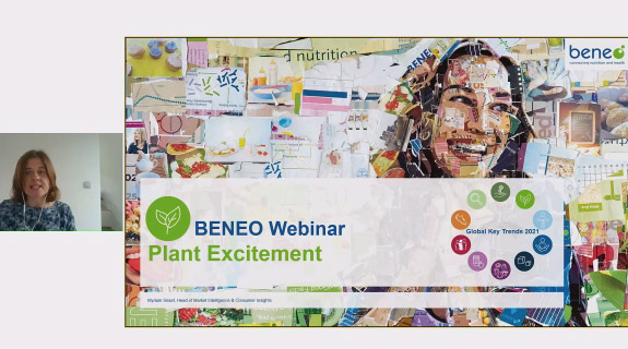 BENEO webinar on plant (based) excitement