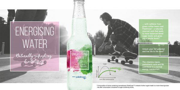 Concept Energising water, naturally refreshing