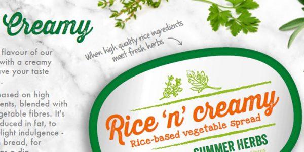 Rise'n Creamy spread