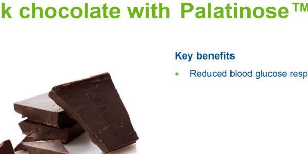 Pure chocolate pleasure, with Palatinose™
