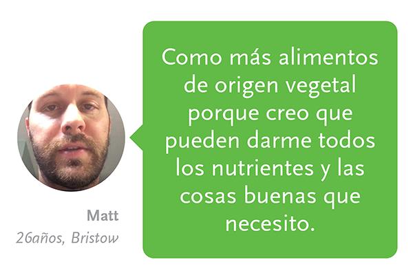 Caprichos de origen vegetal con los ingredientes adecuados