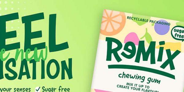 Concept chewing gum sensation