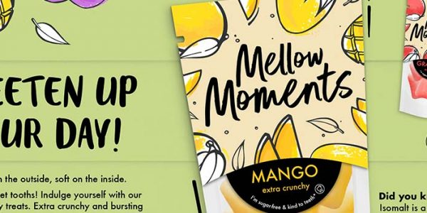 Brighten the day with Mellow Moments candy concept
