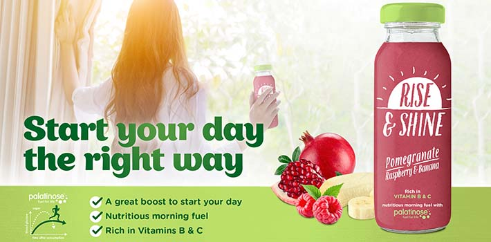 Nutritious morning energy – Rise & Shine Smoothie