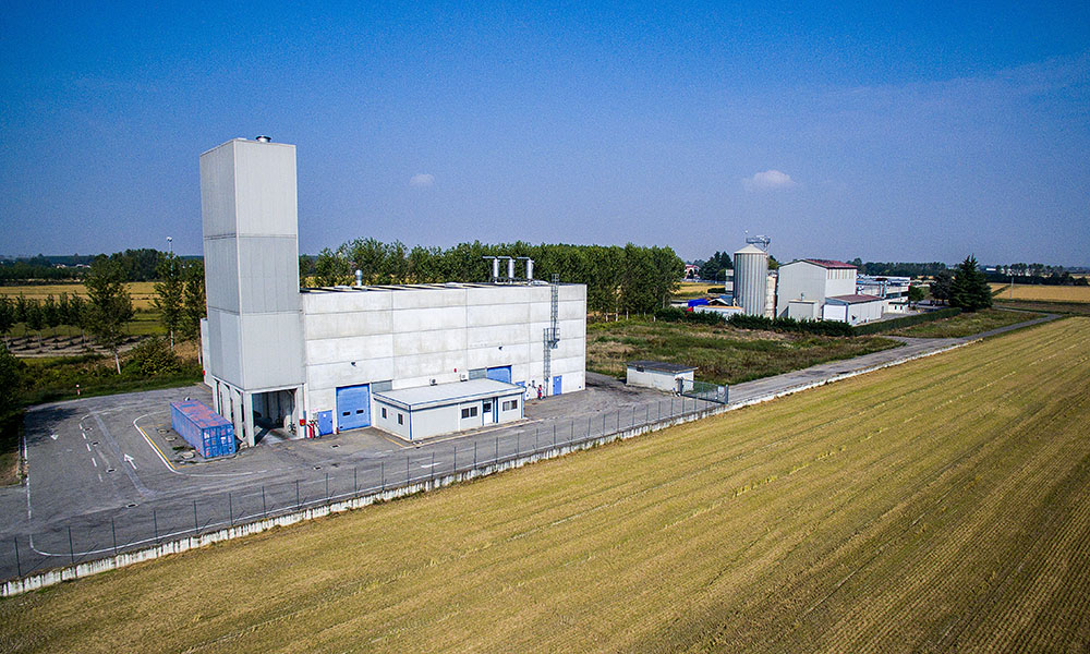 Opening of new production plant