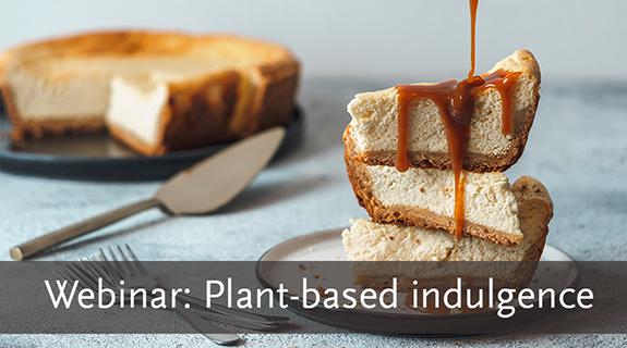 Webinar on plant based indulgence