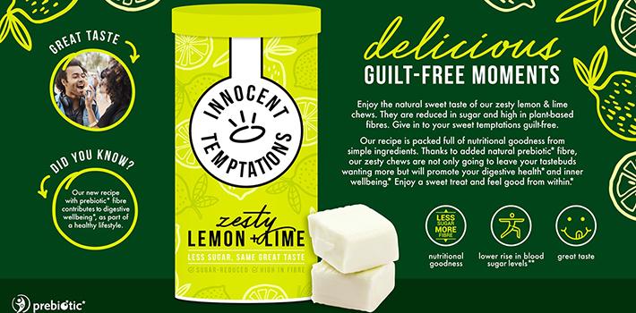 Concept innocent lemon lime chews