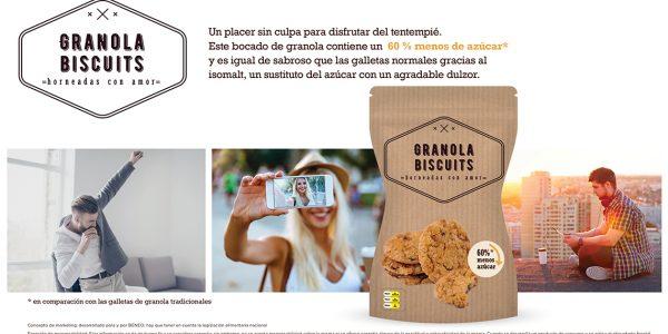 BENEO concepto Granola Biscuits homeados con amor