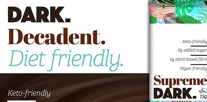 Concept Keto dark chocolate bar