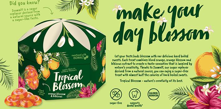 Tropica Blossom Sweets concept