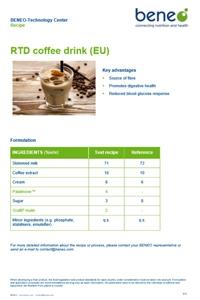 BENEO recipe: Feel good coffee with Orafti® Inulin