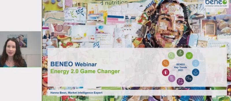 BENEO webinar on energy 2.0. Game Changer