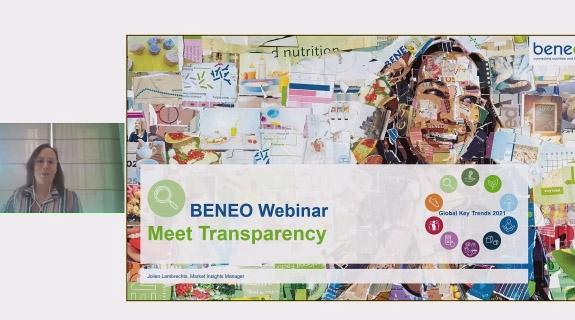 BENEO webinar on label transparency