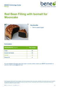 PDF: Sugar-free mooncake with Isomalt