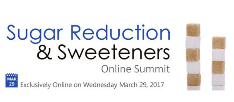 Webinar Sugar Reduction online summit